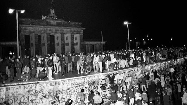 1989 chute du mur
